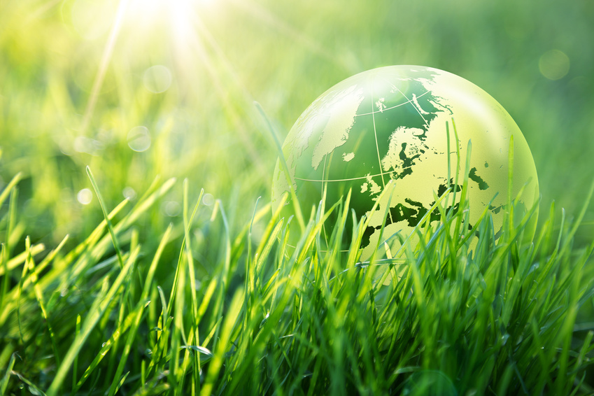 world environmental concept - Europe
